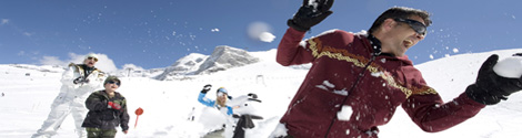 schneeballschlacht